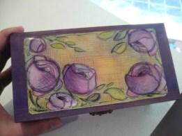Caja rosas