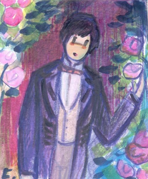 Las rosas del jardín